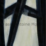 La croisée, Antoine Mortier, 1954, huile sur toile, 130x89