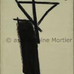 Moulin à café, Antoine Mortier, 1947, huile sur toile, 56x38