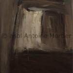 Moulin à café, Antoine Mortier, 1950, huile sur toile,