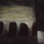Mysticité, Antoine Mortier, 1975, huile sur toile 153x205