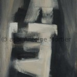 Pour une âme, Antoine Mortier, 1966, huile sur toile, 130x89