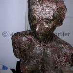 Antoine Mortier, Buste de femme, plâtre