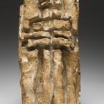 Antoine Mortier; Christ tabernacle,  plâtre / bronze