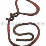 1953 Torse, pendentif, cuivre battu, ex. unique  recto