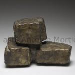 Monument/al, Projet pour une sculpture monumentale,  22x12x14,5 monogramme AM et numéro dans pli, tirage de 6 exemplaires